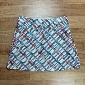 Adidas Golf Gingham Print Active Skort